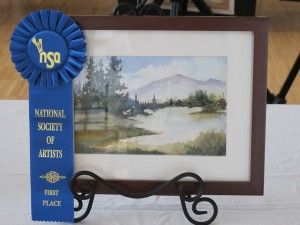 Lindy Fortenberry 1stplace watercolor