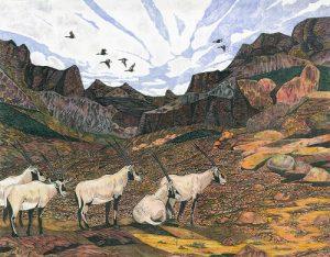 Oryx Arabian Hiser